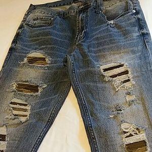 Pacsun Skinny Biker Jeans
